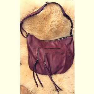 Handbags - Oxblood Red large Oversized Hobo Purse